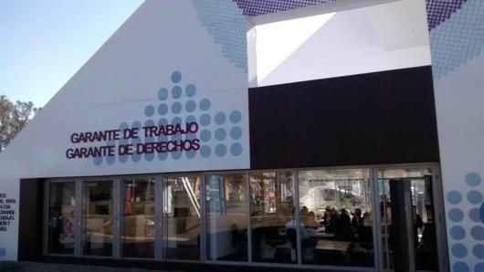 talleres de CAFYDMA en Tecnópolis 2014