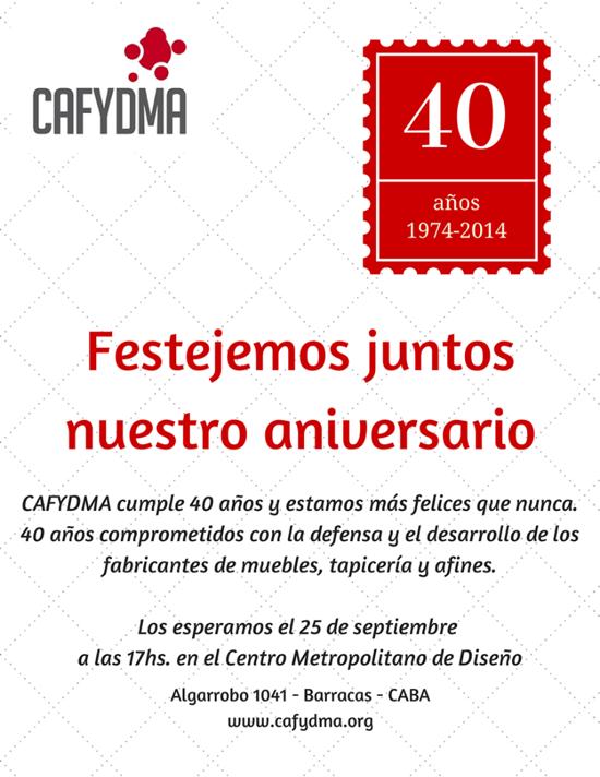 40 años de CAFYDMA
