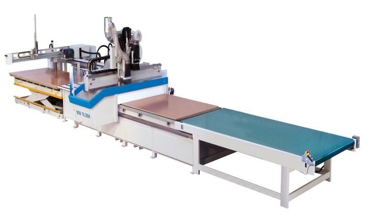 Maquinarias Caseros presenta los nuevos centros de trabajo a control numérico CNC marca Masterwood