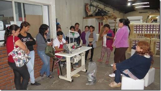 Cursos de tapicería de CAFYDMA en Jujuy