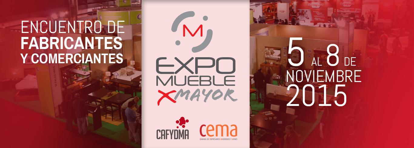 Expo Mueble por Mayor: del 5 al 8 de noviembre de 2015