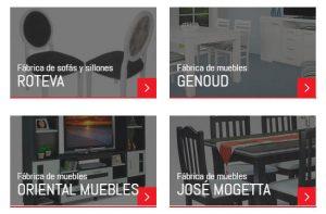 Firmas que participan de Expo Mueble x Mayor