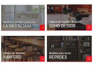 Empresas participantes de Expo Mueble x Mayor