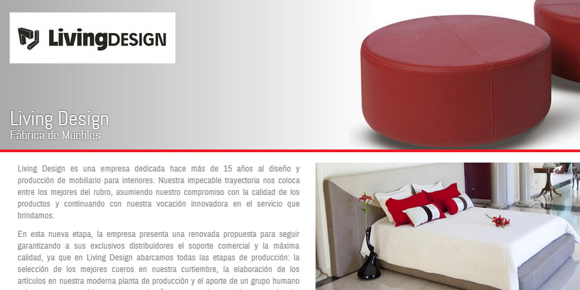 Living design participa de Expo Mueble x Mayor