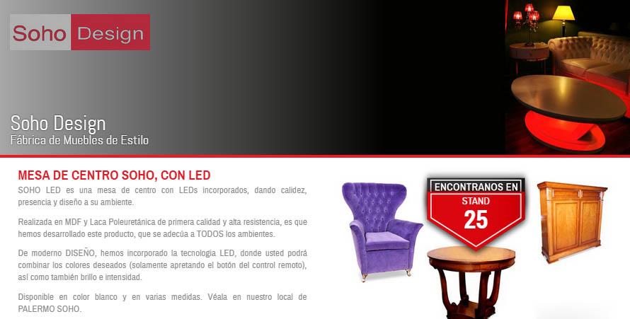 Soho Design participa de Expo Mueble x Mayor