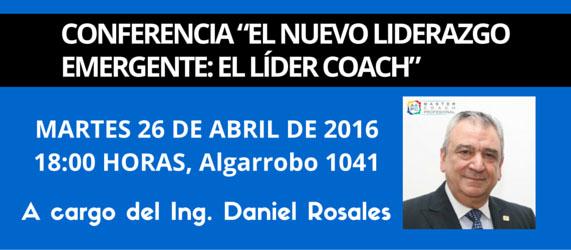 El nuevo liderazgo emergente: El líder coach, conferencia en CAFYDMA
