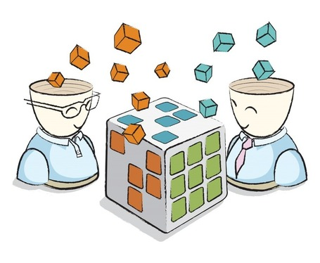 Intercambio libre de ideas en el trabajo