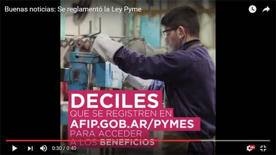 Cómo acceder a los beneficios de la Ley PyME