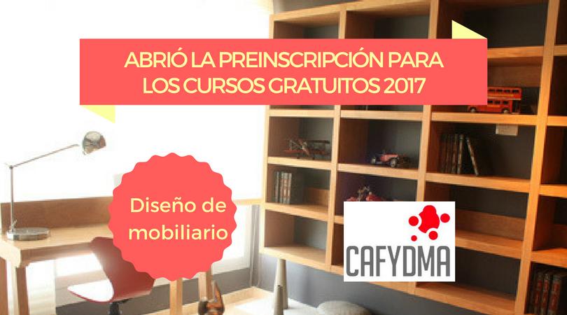 Curso De Dise O De Mobiliario 2017 Cafydma