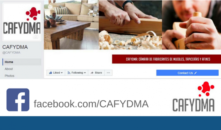 Seguí a CAFYDMA en Facebook