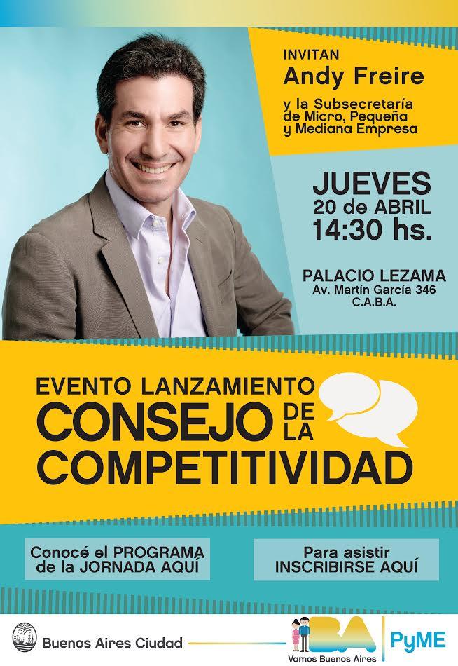 Primer Consejo de la Competitividad en CABA