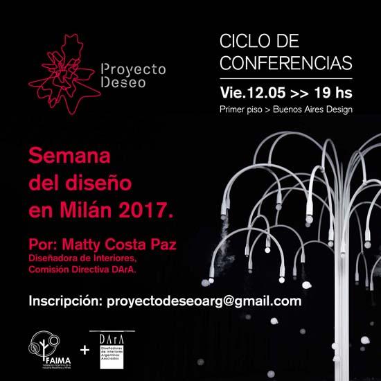Conferencia Semana Del Dise O En Mil N 2017 Cafydma
