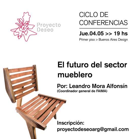 """conferencia """"El futuro del sector mueblero"""""""