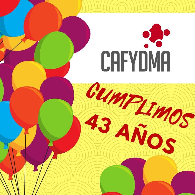 CAFYDMA 43 años