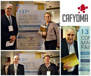 CAFYDMA en el 137° Congreso Maderero FAIMA