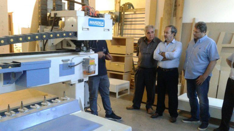 La Comisión Directiva visitó los talleres destinados a nuestros cursos.