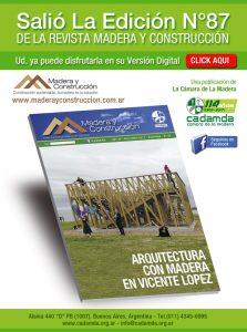 Revista Madera y Construcción N°87