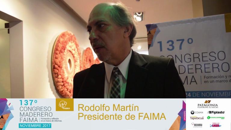 Entrevista a Rodolfo Martin, Presidente de FAIMA