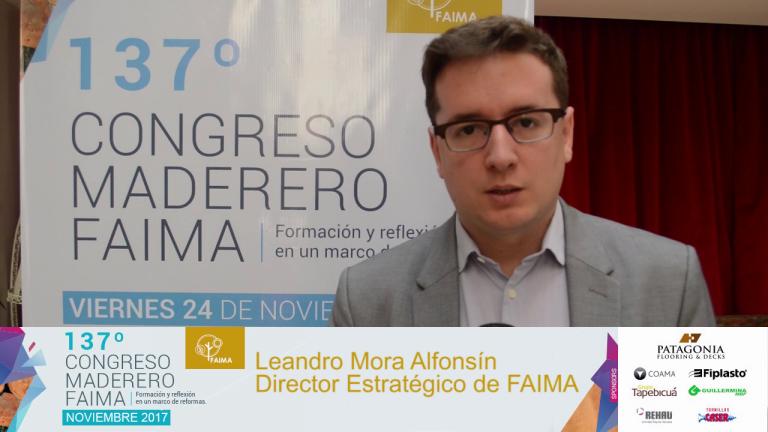 Entrevista a Leandro Mora Alfonsin, Director Ejecutivo de FAIMA